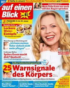 """Cover """"Auf einen Blick"""""""