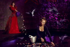 Birte as The Wicked Stepmother and Cinderella for FairyTaleHeroes -photos by ChristophSiegert